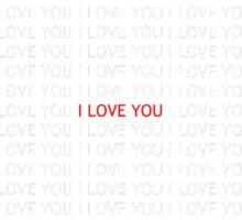 Wall of Love Sticker