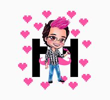 PINKIPLIER - Markiplier pink hair chibi1 Womens Fitted T-Shirt