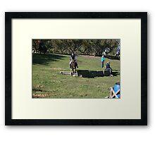 Okuku PC rally at Gracebrook (1310) Framed Print