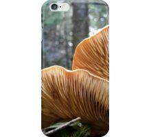 gills of a mushroom iPhone Case/Skin