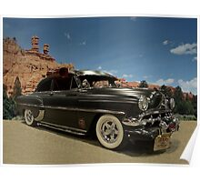 1954 Chevrolet Custom Two Door Poster