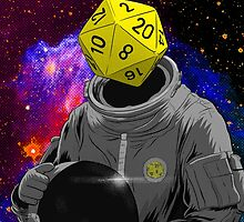 d20 Astronaut by Lee Bretschneider