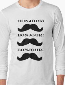 Mustache Love Long Sleeve T-Shirt
