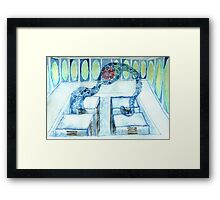 Ocarina of Time: Water Temple Framed Print