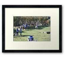 Okuku PC rally at Gracebrook (1315) Framed Print