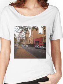 A funny thing happened on the way to the Forum!! Melb. VIC Australia Women's Relaxed Fit T-Shirt