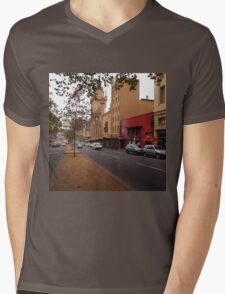 A funny thing happened on the way to the Forum!! Melb. VIC Australia Mens V-Neck T-Shirt