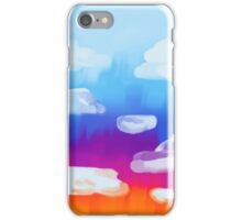 Sunset painting  iPhone Case/Skin