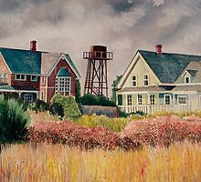 Mendocino Houses by Sally Sargent