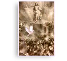 The power of Resurrection Canvas Print