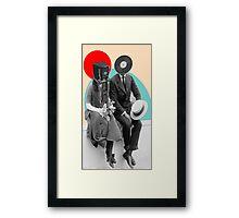 Old Couple Framed Print