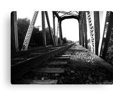 Sad Tracks Canvas Print