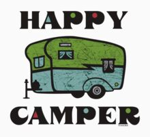 Happy Camper Baby Tee