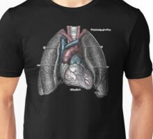 Grey's Anatomy - Heart & Lungs Unisex T-Shirt