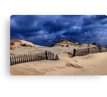 Winter Dunes Canvas Print