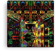 PSYCHEDELIC PARKING LEVEL Canvas Print