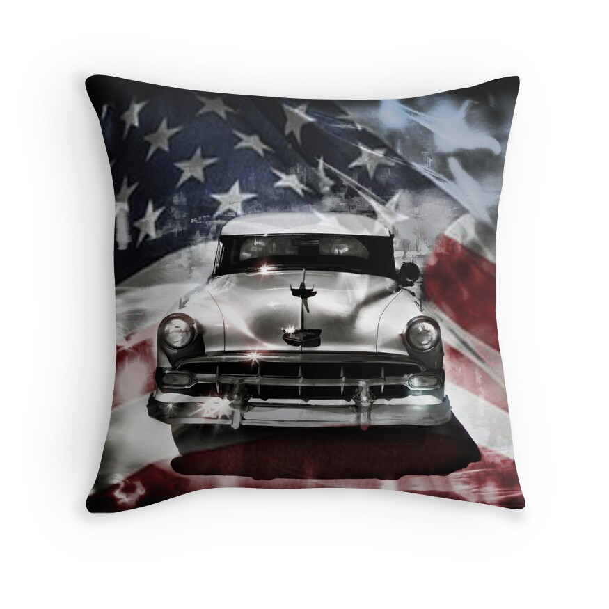 see the usa in your chevrolet throw pillows by carolm redbubble. Cars Review. Best American Auto & Cars Review