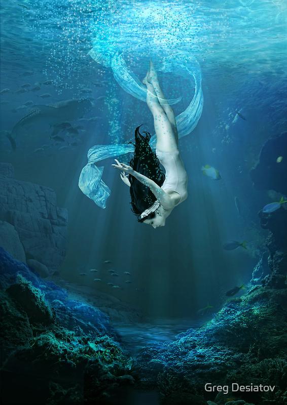 Water Dance by Greg Desiatov