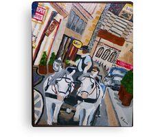 Austrian streets Canvas Print