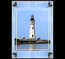 Buffalo Main Lighthouse #2 by Rose Santuci-Sofranko
