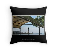 Buffalo Main Lighthouse #3 Throw Pillow
