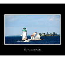 Sunken Rock Lighthouse Photographic Print