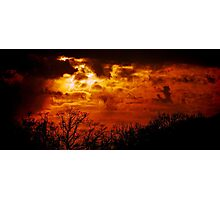 Hell in Heaven Photographic Print