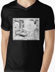 9/11 Intafada Mens V-Neck T-Shirt