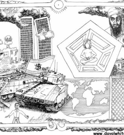 9/11 Intafada Sticker
