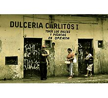 Dulceria Carlitos Photographic Print