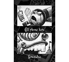 Cell phone Carnivalue Photographic Print