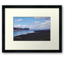 Banks Lake, Washington  Framed Print