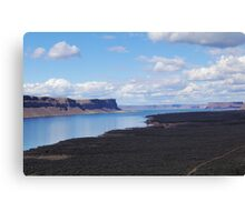 Banks Lake, Washington  Canvas Print