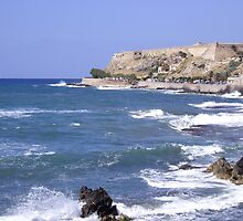 Fortezza, Rethymno, Crete, Greece by Francis Drake