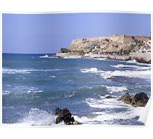Fortezza, Rethymno, Crete, Greece Poster