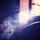 Smoke in a Dimly Lit Room by Joe Novak-Zarate