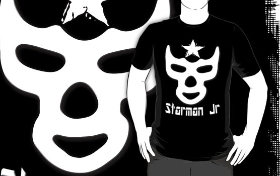 Starman Jr. T-shirt by Brian Walther