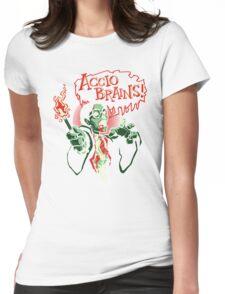 Accio Brains! Womens Fitted T-Shirt