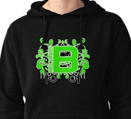 Be Green Records 1 April 2011 Pullover Hoodie