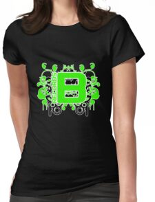 Be Green Records 1 April 2011 Womens Fitted T-Shirt