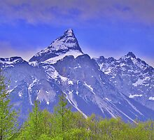 Alpspitze Germany by Daidalos