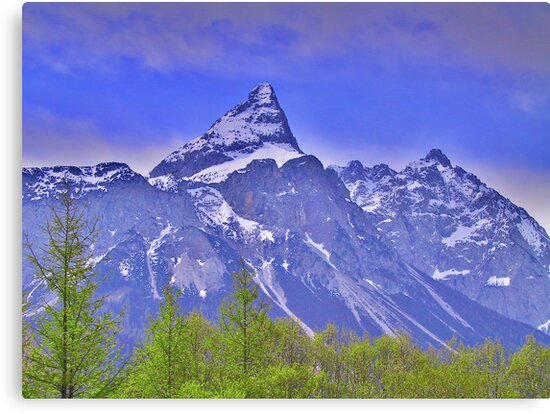 Alpspitze Germany by Daidalos