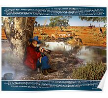 Waltzing Matilda with Banjo Paterson's Original Words Poster