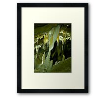 Middle Earth Stall Framed Print
