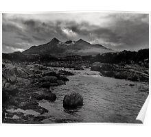 Sgurr nan Gillean - Isle of Skye Poster