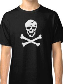 Skull Squadron (white skull) Classic T-Shirt