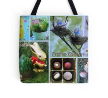 Happy Easter ~ Frohe Ostern Tote Bag