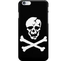 Skull Squadron (white skull) iPhone Case/Skin