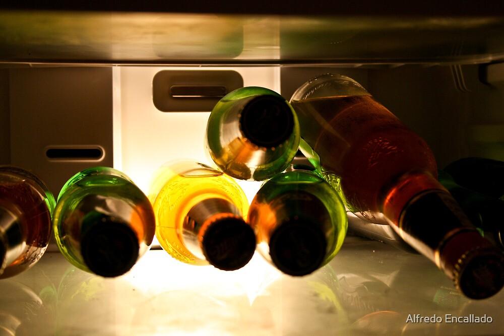 Frozen Beer by Alfredo Encallado