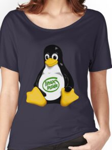Linux Inside Women's Relaxed Fit T-Shirt